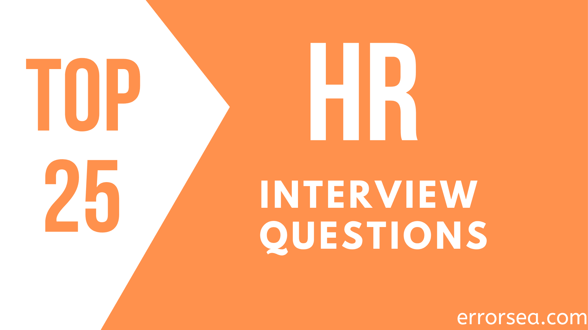 Top 25 HR Interview Questions