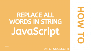 replace all javascript
