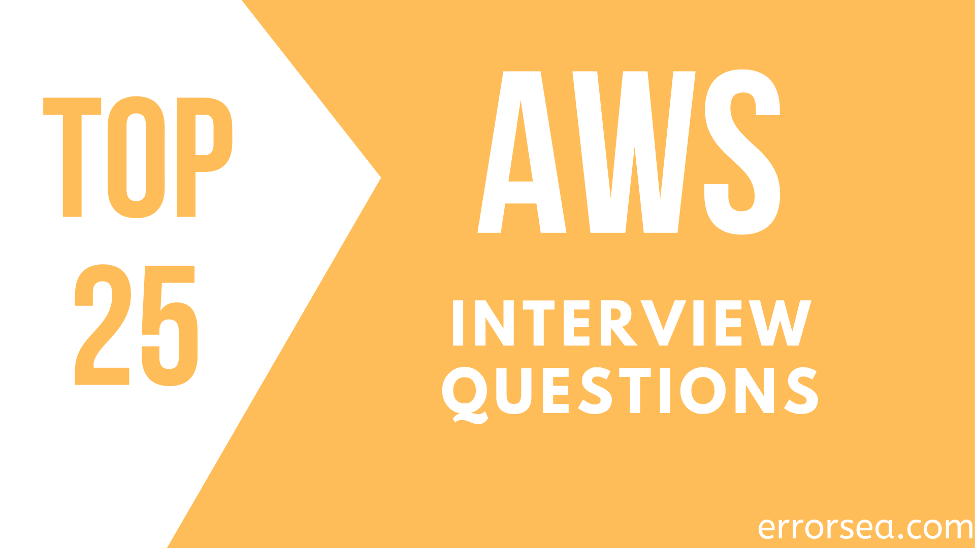Top 25 AWS Interview Questions